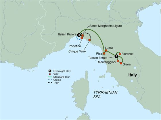Tuscany And The Italian Riviera Italy Book Now With