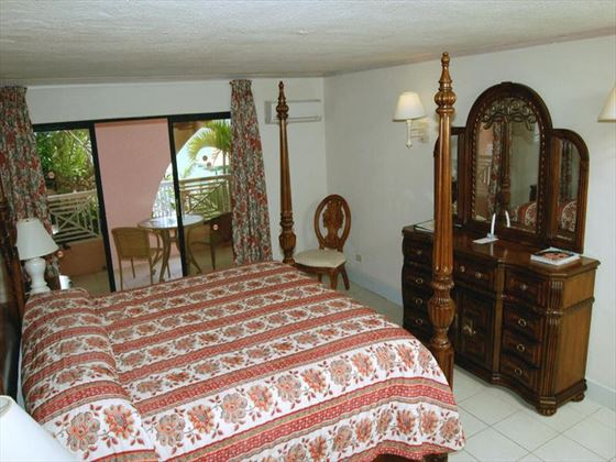 Typical bedroom at Barbados Beach Club