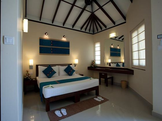 Typical bedroom at Club Hotel Dolphin