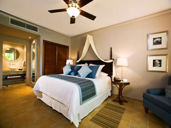 Typical bedroom at Dreams Palm Beach
