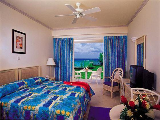 Typical bedroom at Rostrevor Hotel