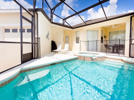 Typical Trafalgar Village Pool