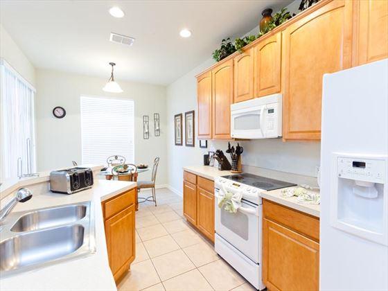 Typical Windsor Hills Kitchen