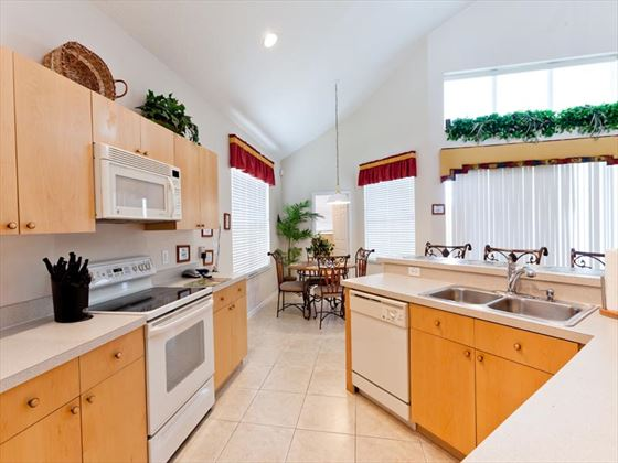 Typical Windsor Palms Kitchen