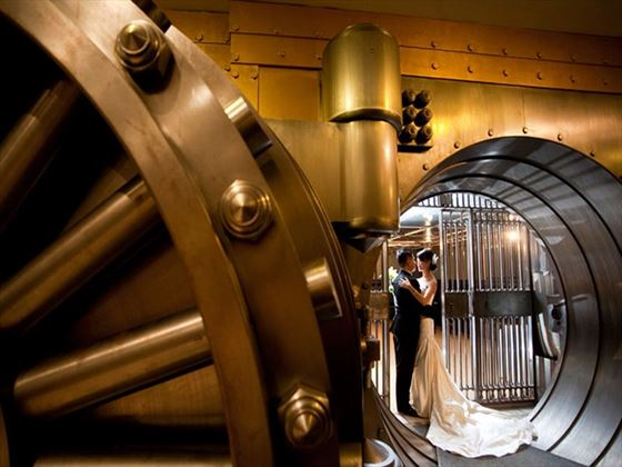 One King West, vault wedding