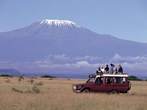 Vehicle at Amboseli National Park