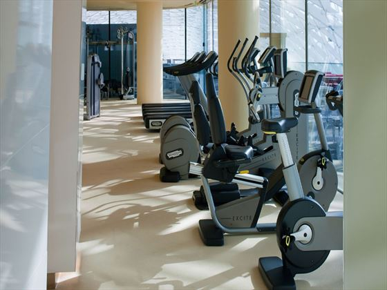 Viceroy Abu Dhabi gym
