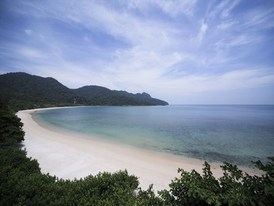 View of Datai Bay at The Datai