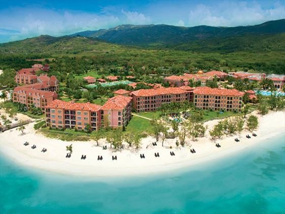 View of Sandals South Coast