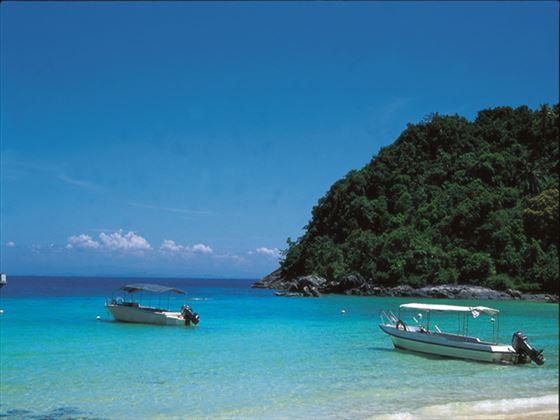 View of Tenggol Island at Tanjong Jara Resort