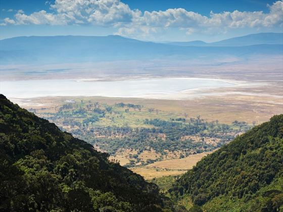 View of Ngorongoro Crater
