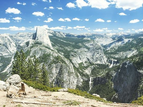 Views from Glacier Point, Yosemite National Park