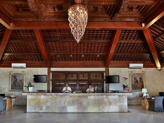 Lobby at Vila Ombak, Gili Trawangan, Lombok