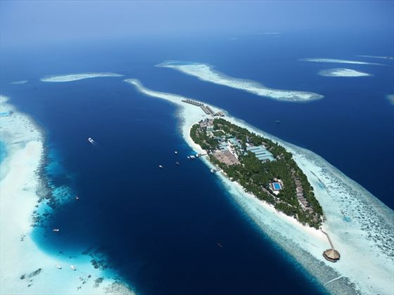 Views of Vilamendhoo Island Resort & Spa