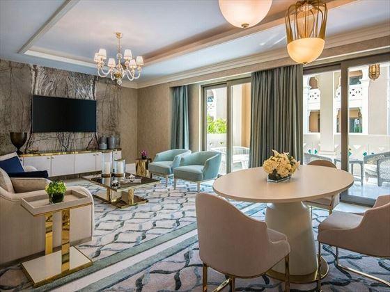Villa Living Room, Rixos Saadiyat Island