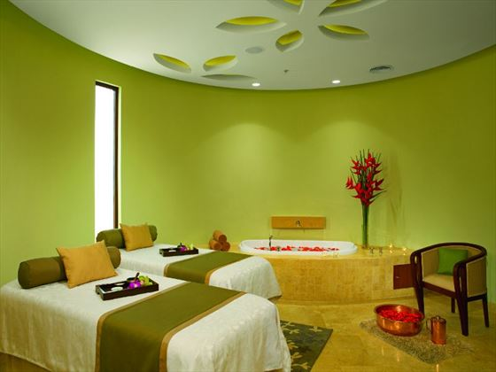 VIP spa treatment room at Secrets Playa Mujeres Golf & Spa Resort