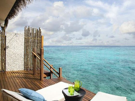 Vivanta by Taj Coral Reef Water Villa sun deck