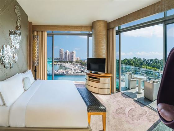W Singapore – Sentosa Cove, Fantastic Suite bedroom