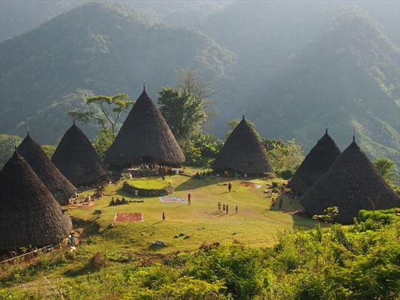 Wae Rebo village, Flores, Indonesia