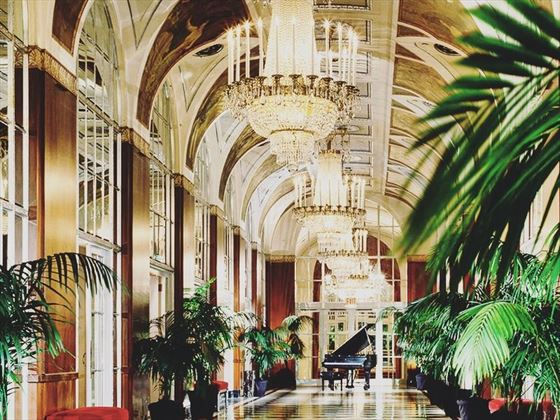Waldorf Astoria's Silver Corridor