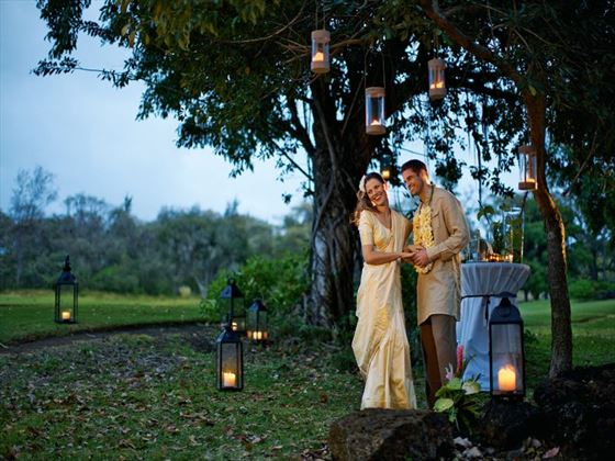 Bride & Groom at Anahita The Resort