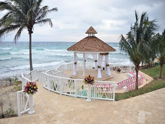 Hyatt Ziva wedding gazebo