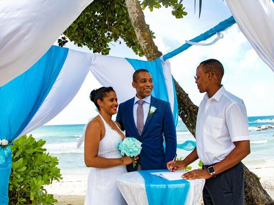 Wedding ceremony at AVANI Seychelles