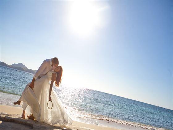 Wedding couple, Tokoriki style