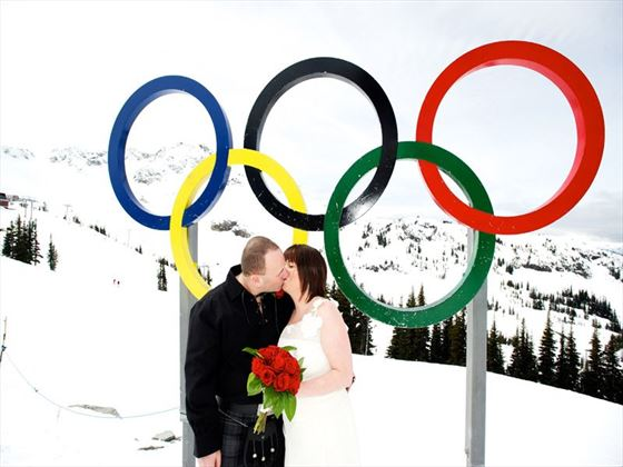 Iconic weddings in Whistler