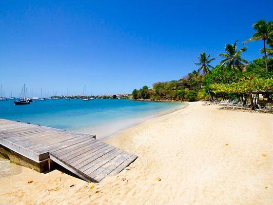 Beautiful sandy beaches at Calabash