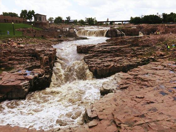 Wild West Sioux Waterfall, South Dakota