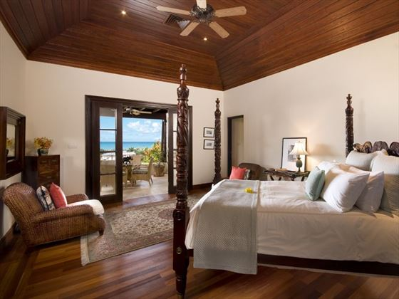 Views of the Caribbean from the bedroom