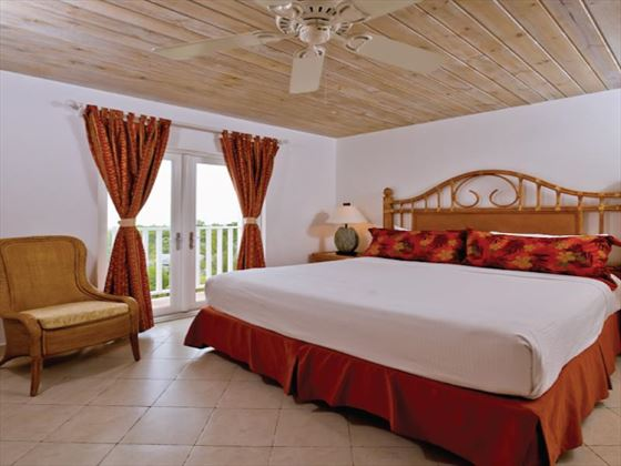 Windjammer Landing Villa bedroom