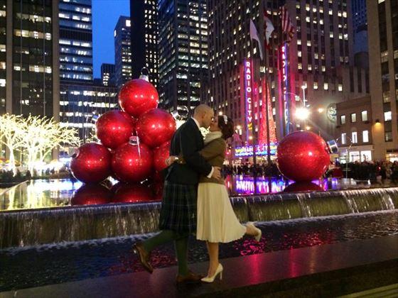 Christmas wedding in New York