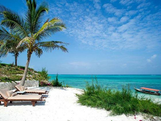 Zawadi Hotel private beach