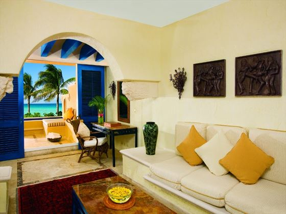 Zoetry Paraiso de la Bonita living room