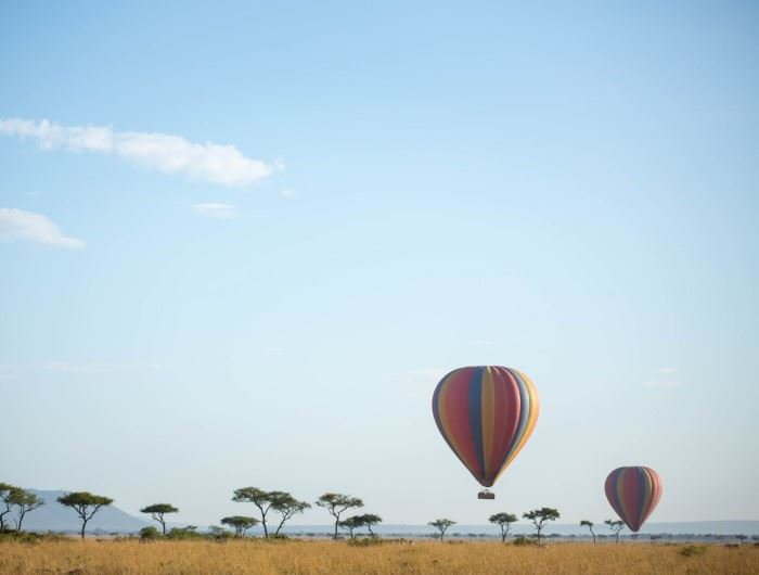 Balloon safari Make It Kenya