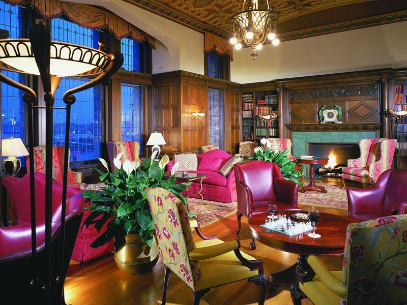 Fairmont Empress Library