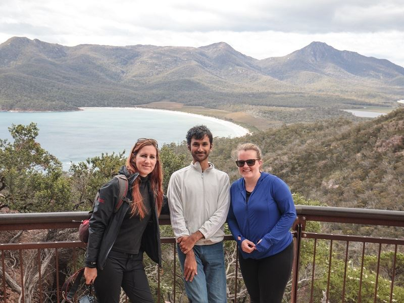 Intrepid Travel Adventure Tours Australia australia tasmania freycinet wineglass bay travellers group