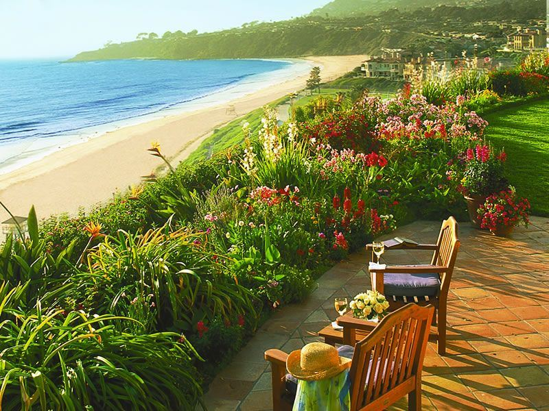 Ritz Carlton Laguna Niguel View of beach