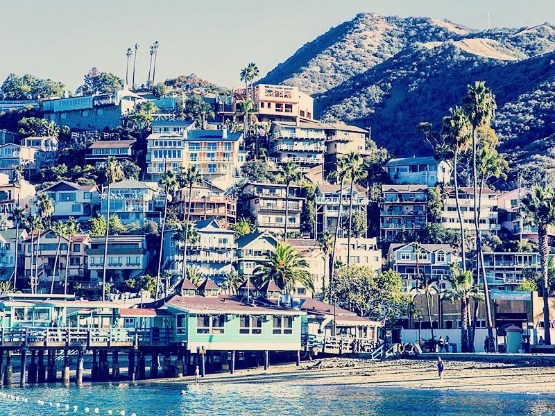 Avalon Harbor, Santa Catalina Island