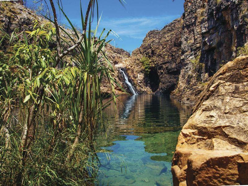 barramundi gorge kakadu national park northern territory