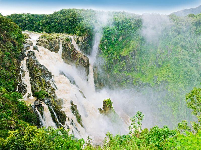 barron falls kuranda cairns