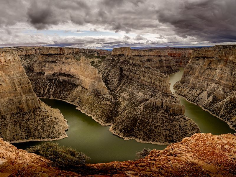 bighorn canyon overlook