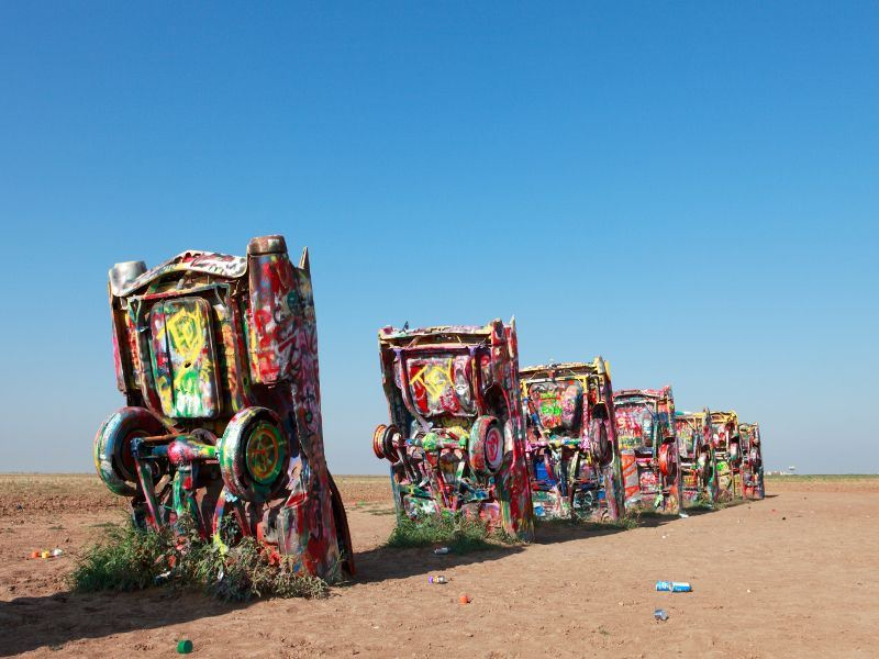 cadillac ranch amarillo route 66