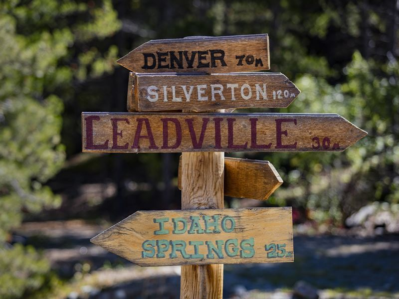 Colorado decorational sign
