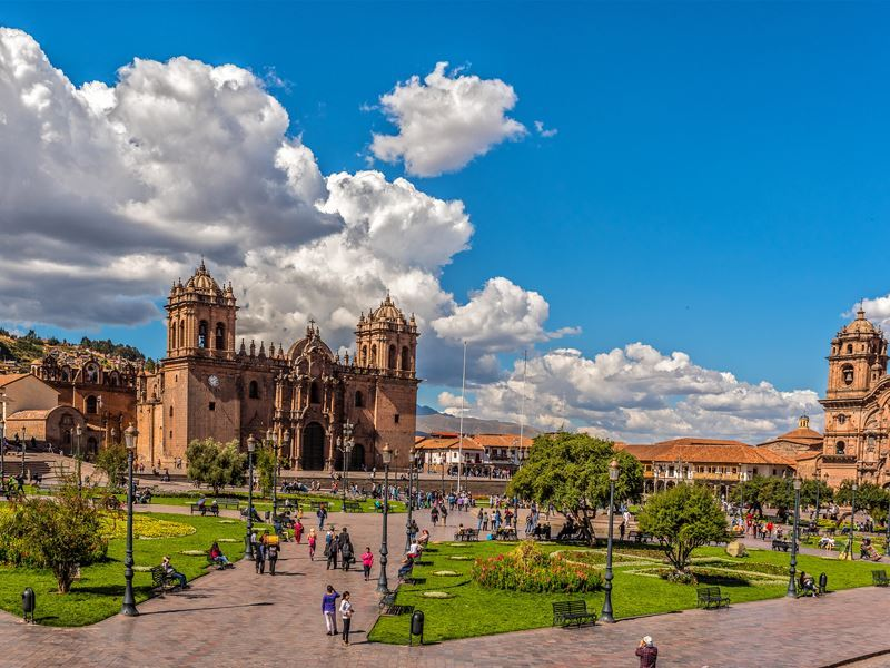 cuscos main square