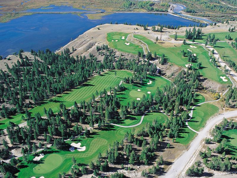 eagle ranch golf invermere