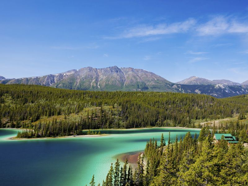 emerald lake southern yukon