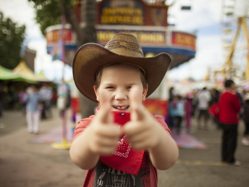 excitement for the calgary stampede